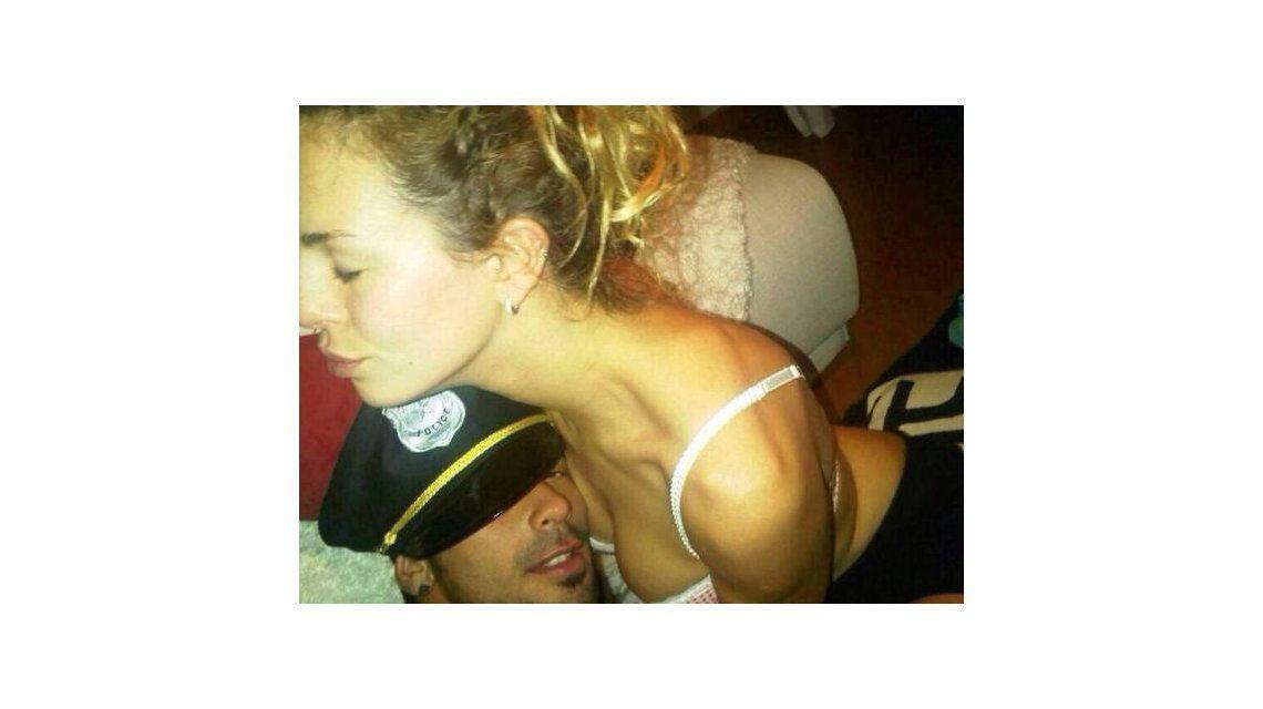 Se filtran fotos hot del Pocho Lavezzi y su novia, Yanina Screpante