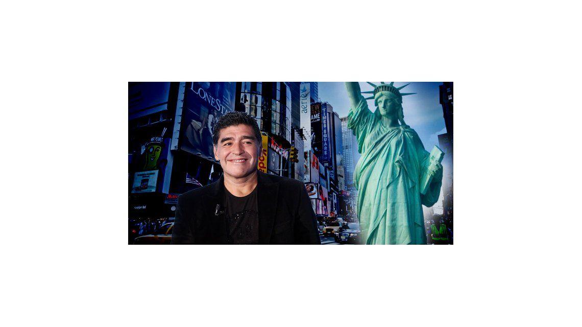 Diego Maradona, a punto de conseguir su visa para viajar a Estados Unidos