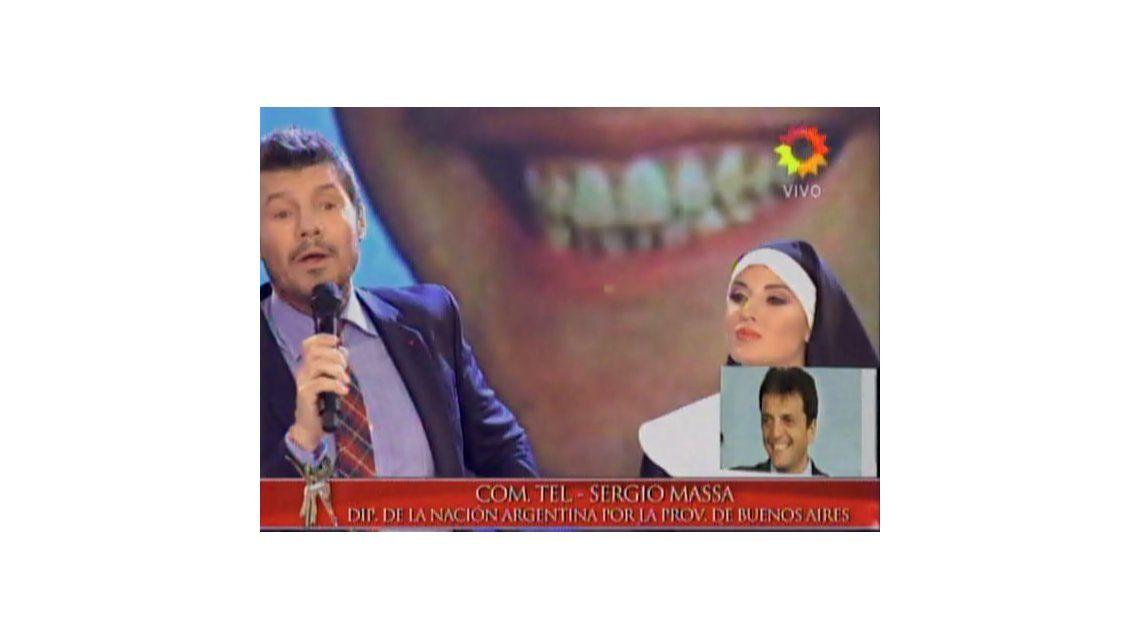 Por el casamiento de Cirio, Tinelli llamó a la Presidenta, Scioli, Macri y Massa