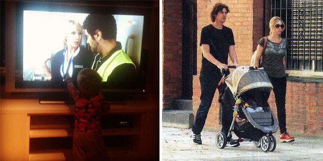 Gaspar, el hijo de Carla Peterson y Martín Lousteau, reconoce a la actriz en la tele y grita ¡mamá!