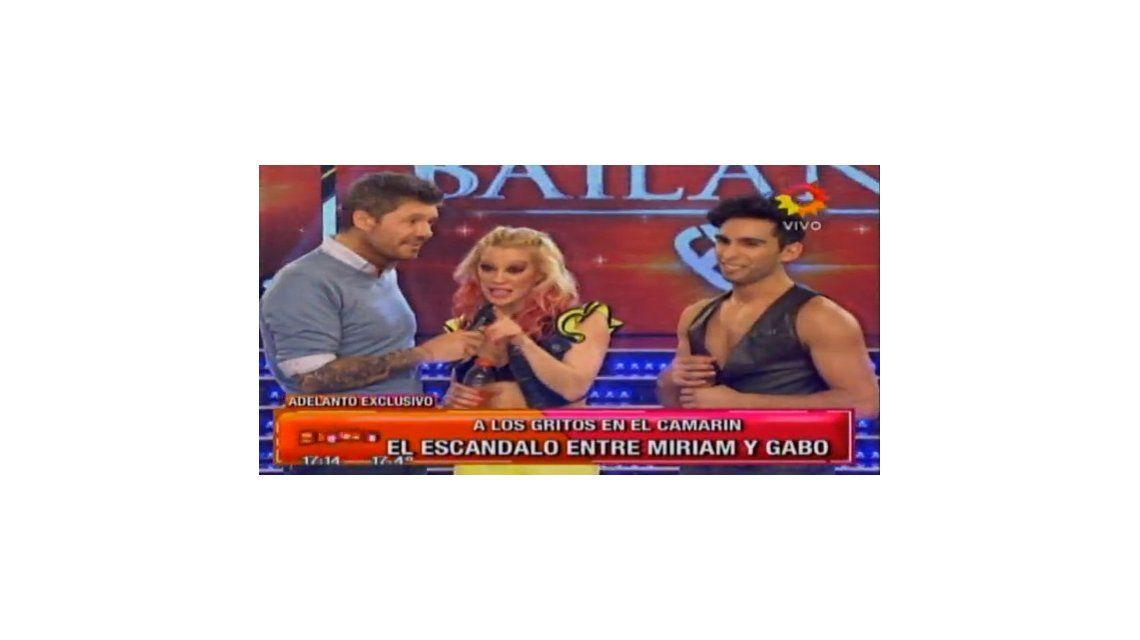 Después de pelearse con Miriam Lanzoni, Gabo Usandivaras se fue del Bailando: ¿Renunció o lo echaron?