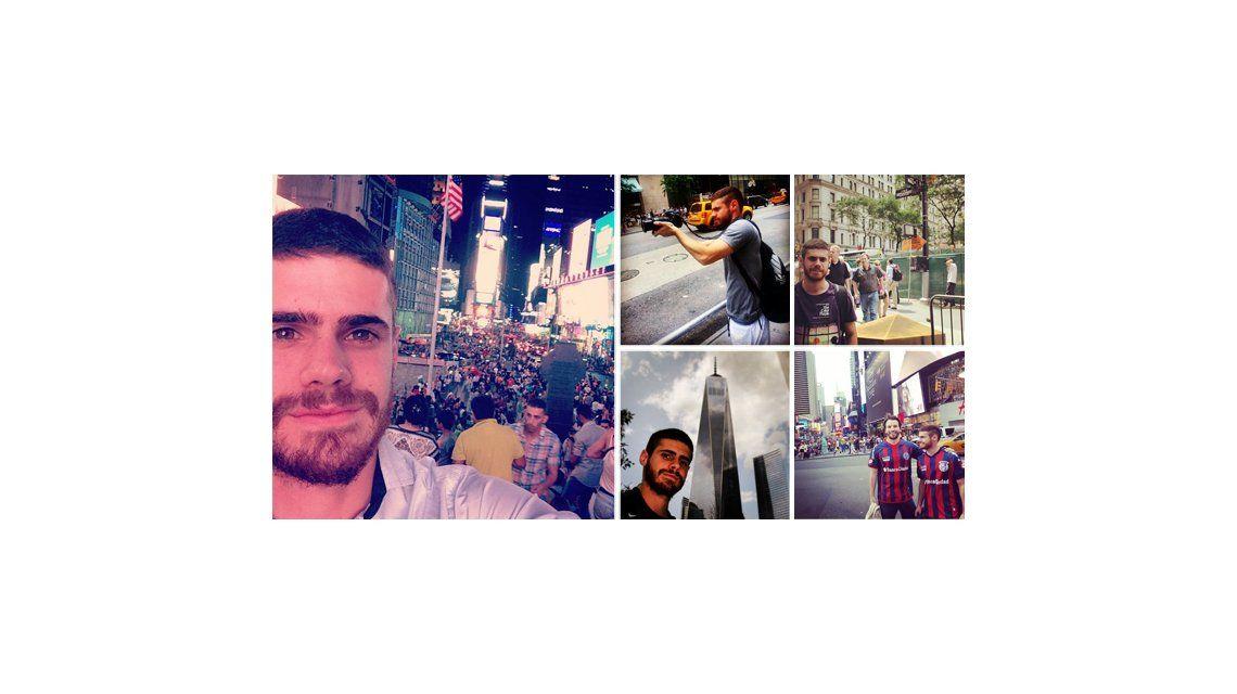 Un argentino en Nueva York: el álbum de las vacaciones de Gastón Soffritti