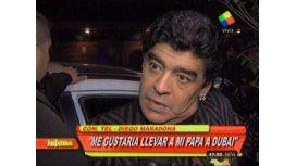 Diego Maradona  internado