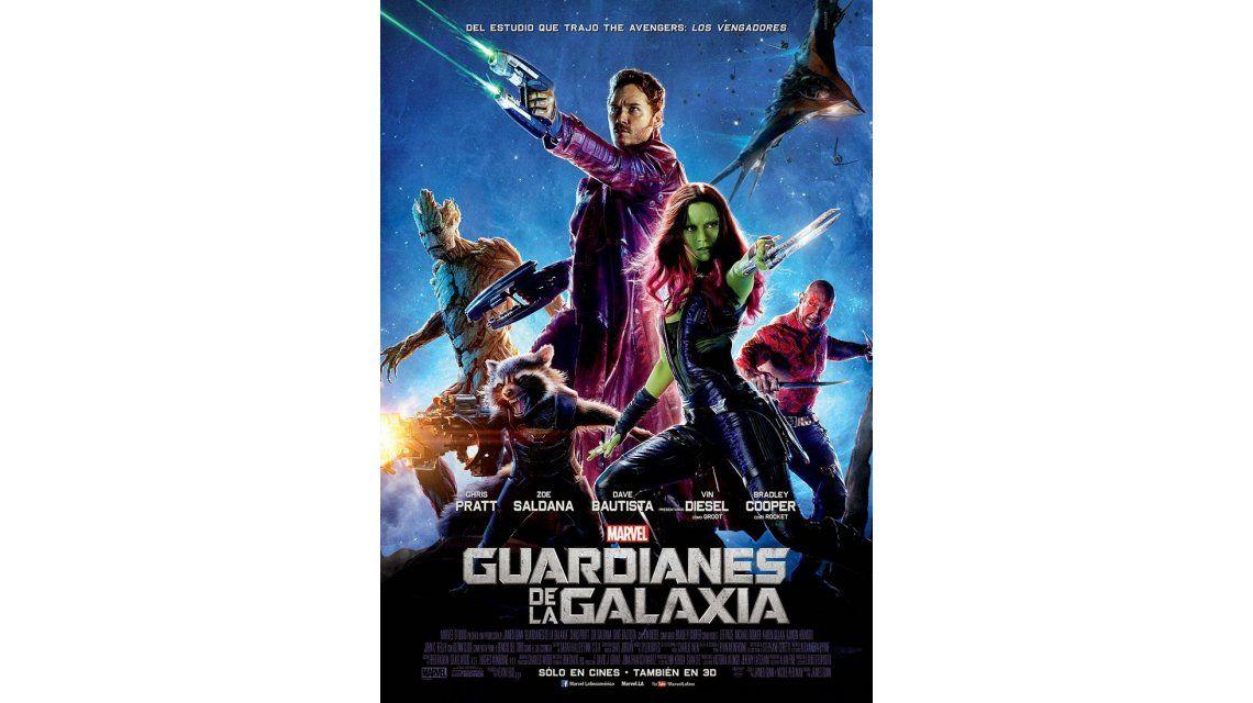 Guardianes de la galaxia: el estreno recomendado de la semana
