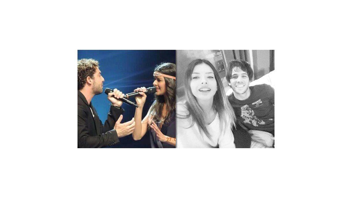 David Bisbal subió una imagen con una cantante y la China Suárez le retrucó con otra foto