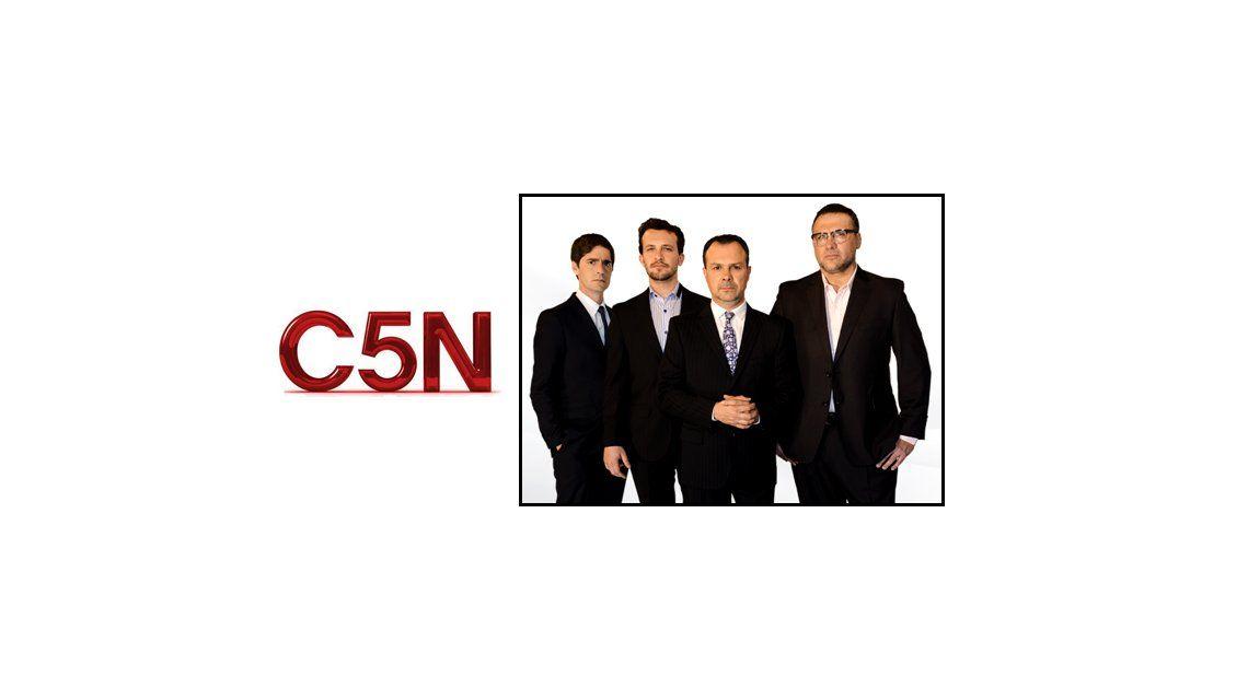 Gustavo Sylvestre debuta en C5N con Minuto Uno