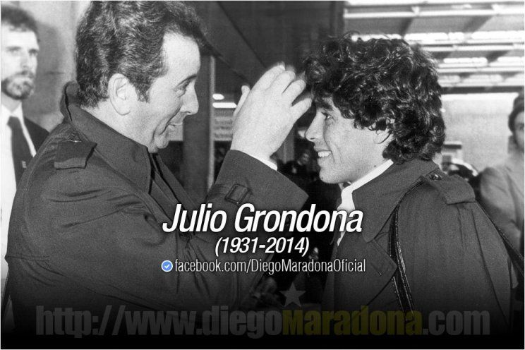 Después de las polémicas, el mensaje conciliador de Maradona: Mis condolencias a la familia Grondona