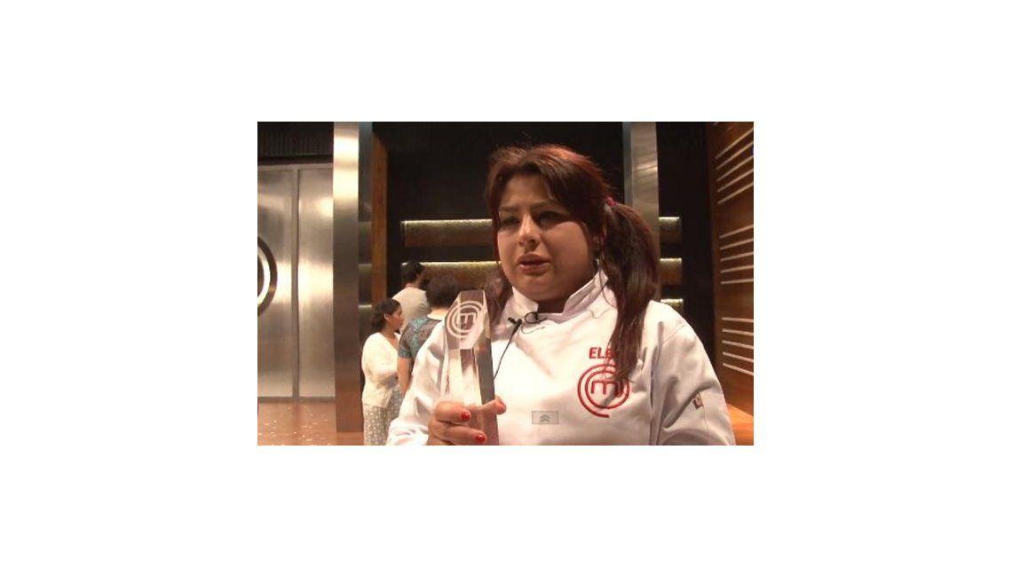 Elba Rodríguez, ganadora de MasterChef: Nunca fui a comer a un restaurante