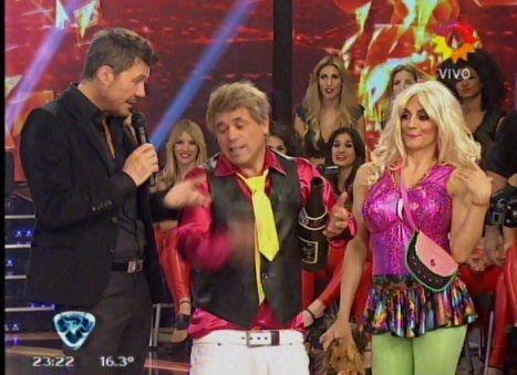 Anita Martínez y el Bicho Gómez se transformaron en dos cuarteteros: Pupee y su novio borracho
