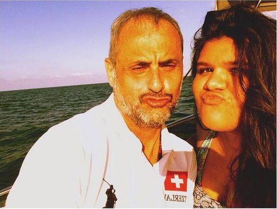 La selfie de Jorge Rial y su hija Morena en Europa
