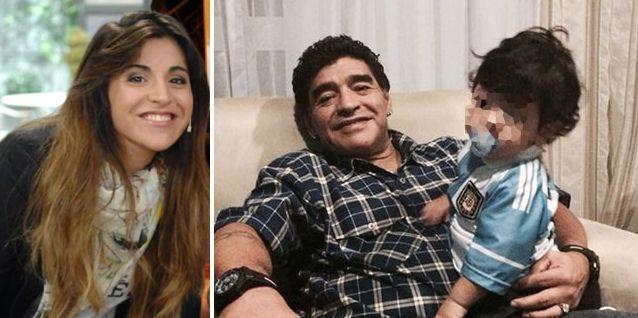 Gianinna Maradona conoció a su hermano Dieguito Fernando el viernes en Ezeiza