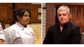 Elba fue la ganadora de MasterChef y Peluffo se indignó con un canal de TV