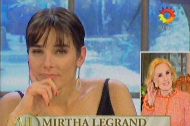 Mirtha llamó a su nieta al aire: Estás absolutamente encantadora, fresca, divertida, espontánea y bellísima