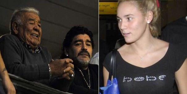 Por el incendio en la casa de Don Diego, la hermana de Maradona denunció a Rocío Oliva