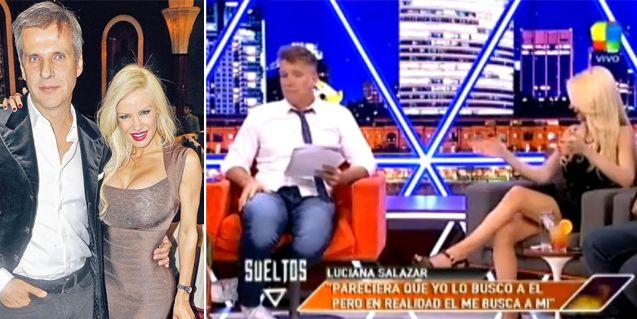 Luciana Salazar volvió a lo de Fantino tras la internación y subió el rating