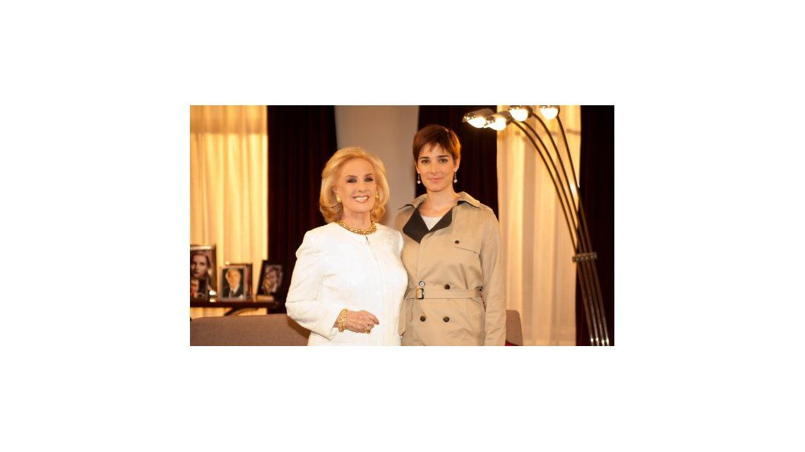 Este domingo Juana Viale reemplazará a su abuela Mirtha Legrand en Almorzando...