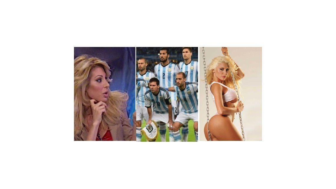 Stefy Xipolitakis: Algunos jugadores de la selección le mostraron la cola a mi hermana