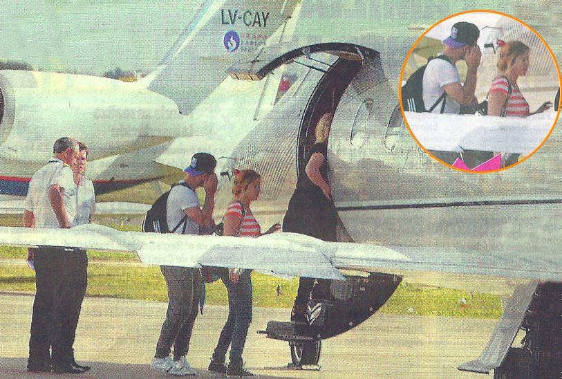 El lujoso fin de semana de Karina, La Princesita: viajó en un jet privado y donó su cachet