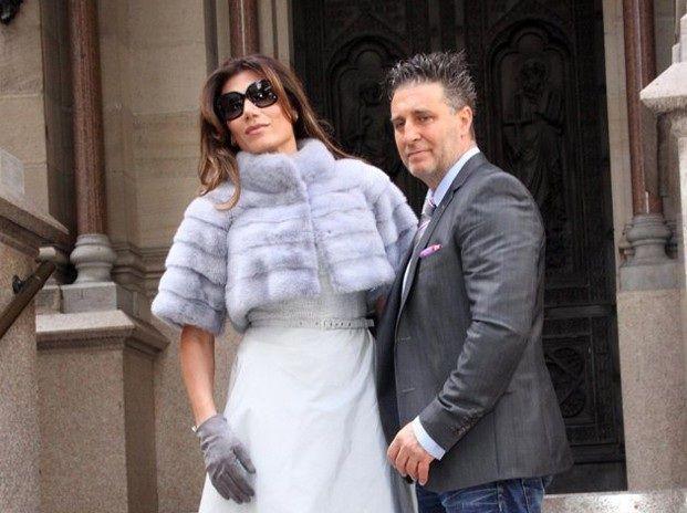 Asaltaron a Florencia de la V, marido e hijos en la puerta del cementerio de la Recoleta