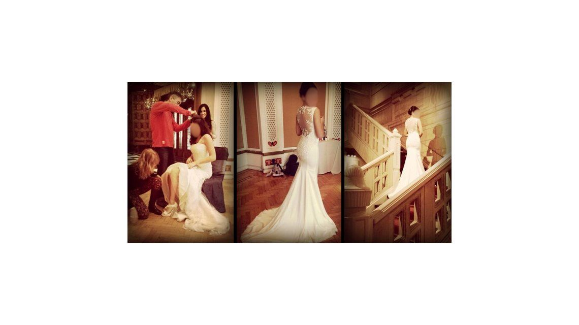 ¿Se viene el casamiento? La actriz y modelo que ya se probó el vestido de novia