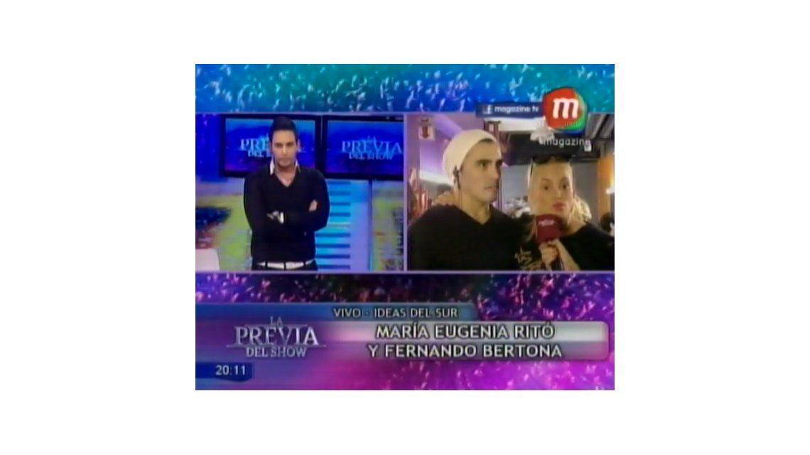 María Eugenia Ritó de nuevo desbordada en televisión: dice que Moria maneja como títeres al jurado