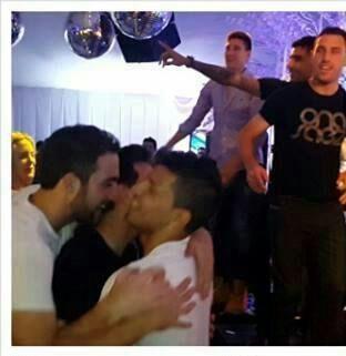 El festejo íntimo de los jugadores de la Selección Argentina y sus mujeres en Ezeiza