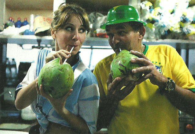 El álbum prohibido de Cayetina en Brasil