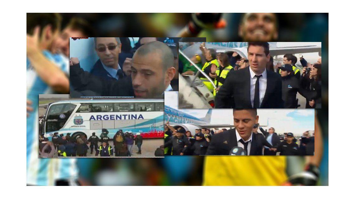 Argentina Subcampeón: la Selección Nacional llegó a nuestro país