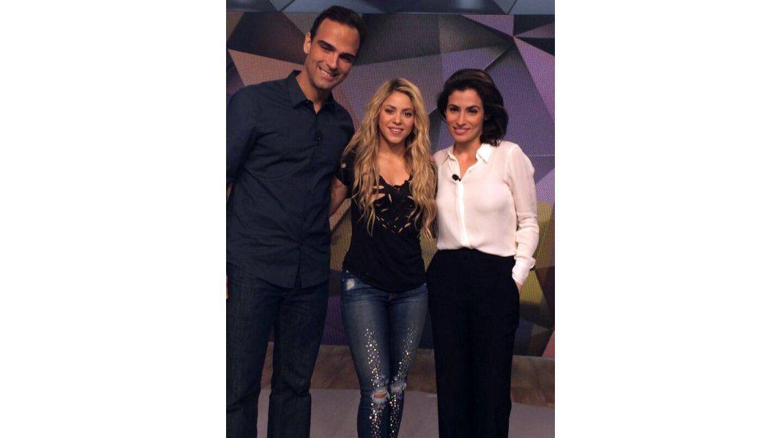 Shakira ya se encuentra en Brasil para protagonizar la ceremonia final del Mundial