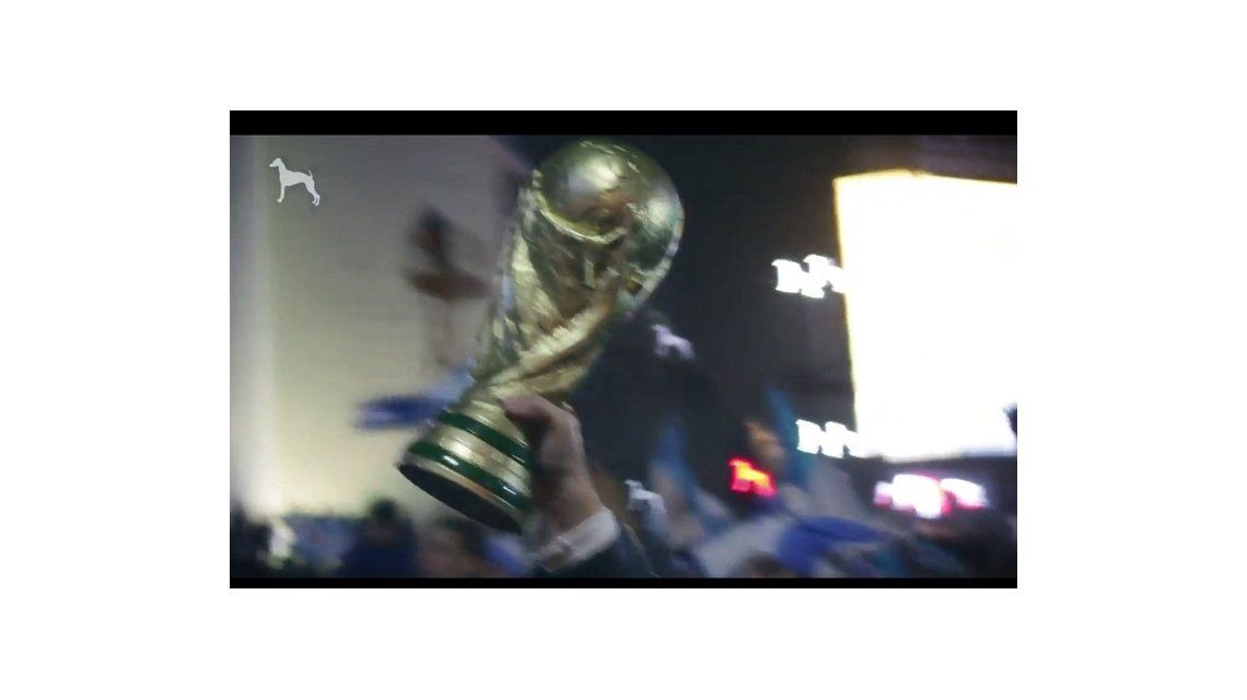 La arenga mundialista para la selección de Argentina en la final contra Alemania