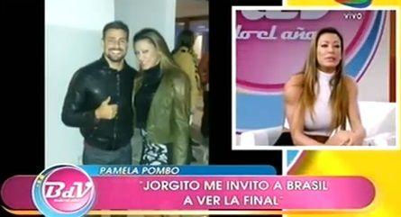 Pamela Pombo: Jorgito de Avenida Brasil me invitó a ir a ver la final del Mundial