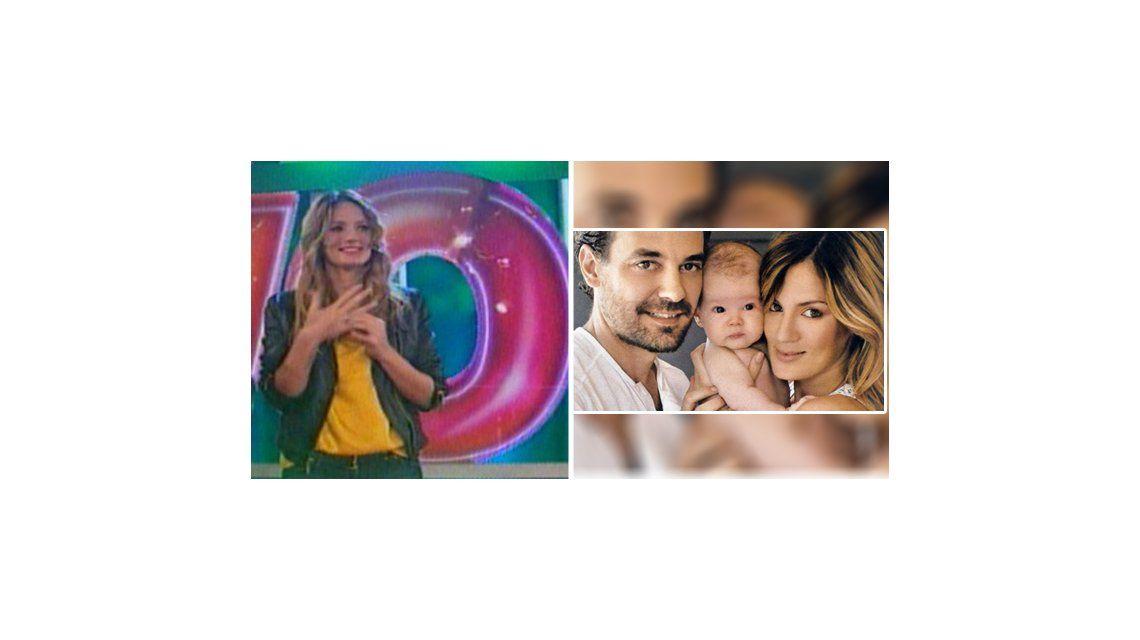 Todo listo para el casamiento con Pedro Alfonso: Paula Chaves se bautizó junto a su hija Olivia