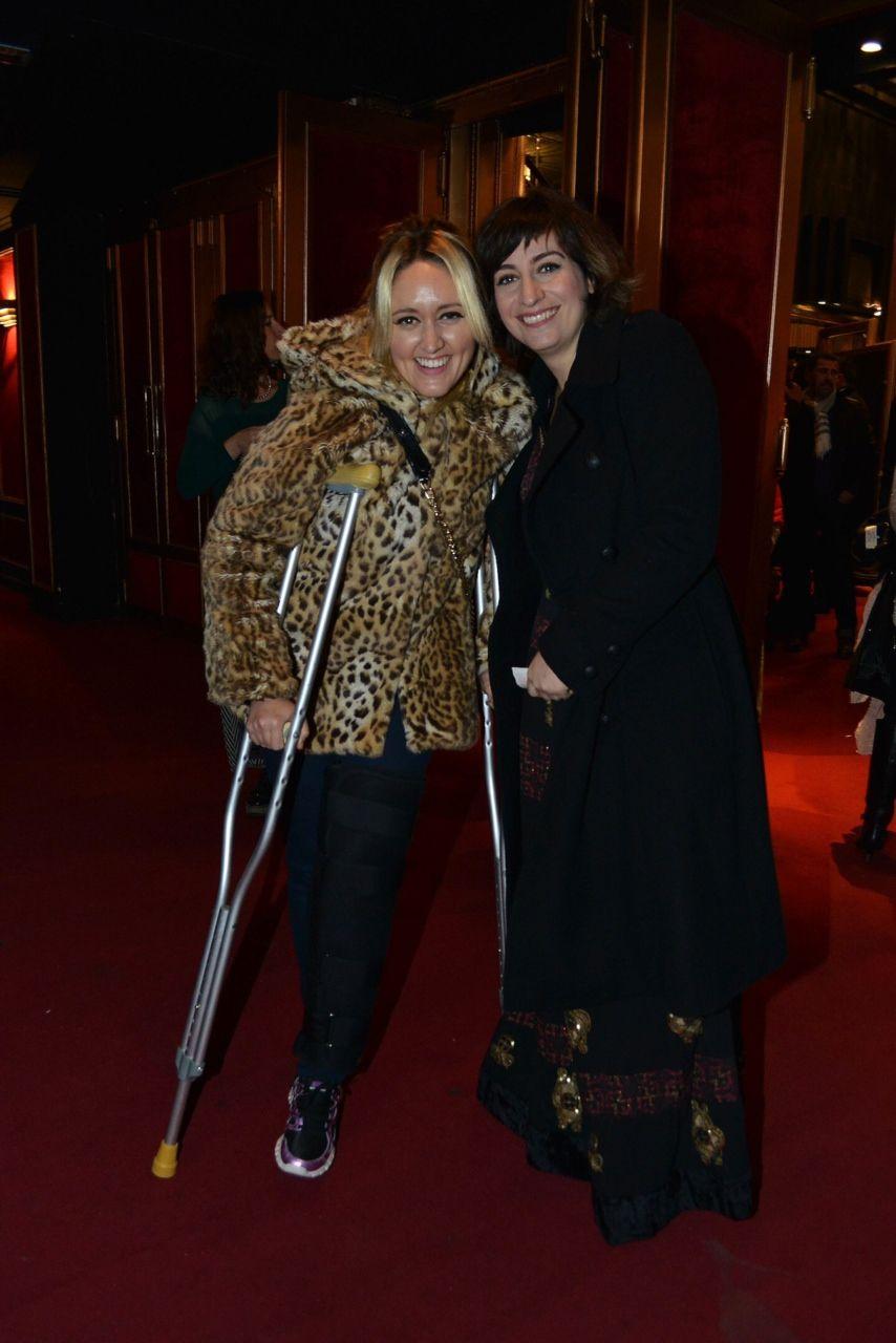 Las fotos del estreno de Griselda Siciliani en Estás que te pelas