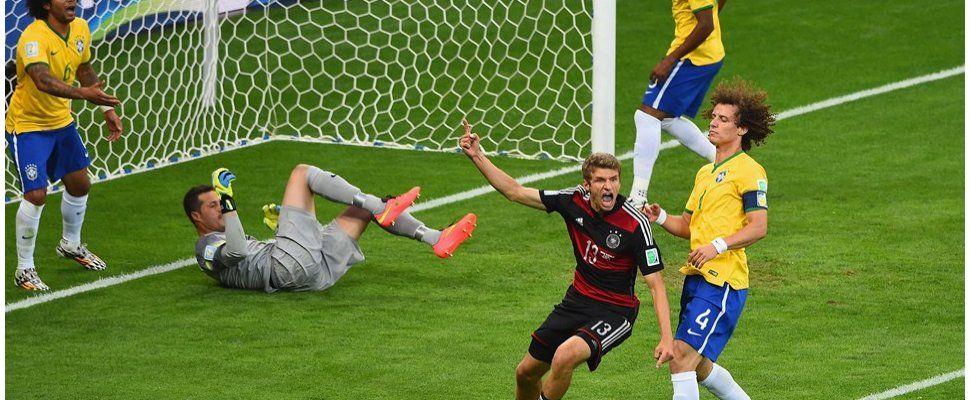 Brasil humillado ante Alemania: picos de 46 de rating y mensajes de famosos