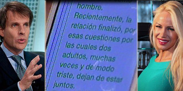 Después de su escandalosa separación de Luciana Salazar, Martín Redrado rompió el silencio