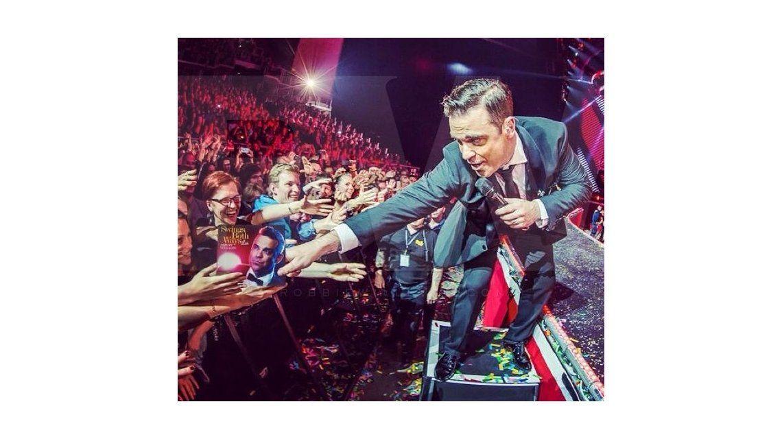 Foto: web oficial de Robbie Williams