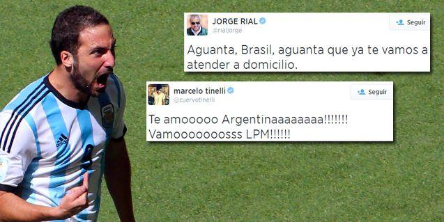 Así festejaron los famosos en las redes el paso de Argentina a semis