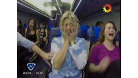 El peor vuelo: el desconsolado llanto de Pía Slapka en la cámara oculta