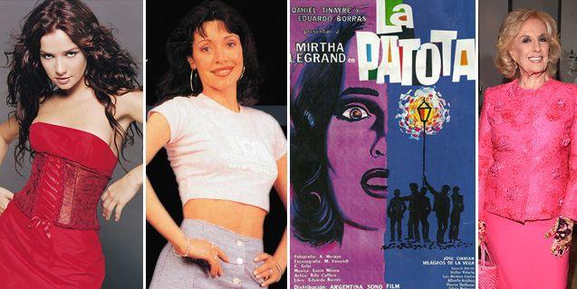 Natalia Oreiro será Gilda; y se prepara una remake de un film de Mirtha Legrand