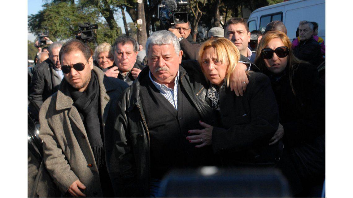 El último adiós a Soledad, la hija del periodista Tití Fernández