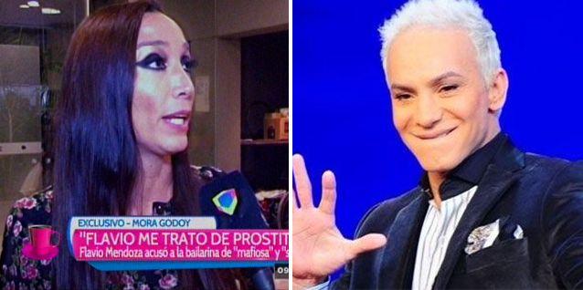 Mora Godoy acusó a Flavio Mendoza: Él me trató de prostituta, eso no es de hombre