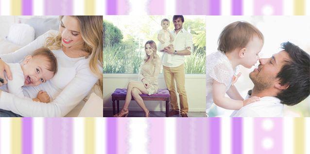 Estilo y glamour: la producción familiar de Chechu Bonelli, Darío Cvitanich y su hija Lupe