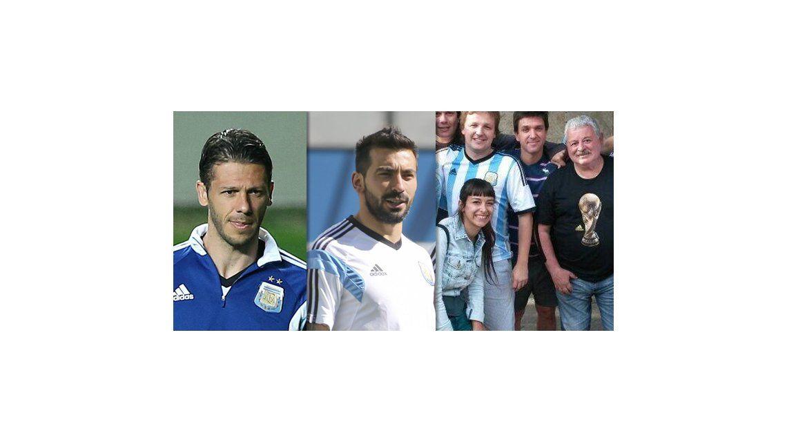 El apoyo de los jugadores de la selección argentina a Tití Fernández