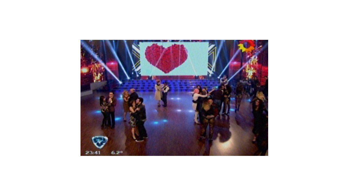 Volvió el show de Titina y Adelmar en el Bailando: hicieron bailar lentos a todos