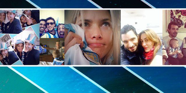 Los famosos celebraron la victoria de Argentina ante Suiza en las redes sociales