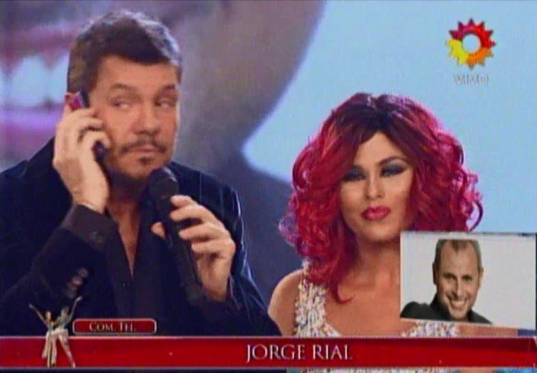 Loly Antoniale y Jorge Rial blanquearon su reconciliación en Showmatch