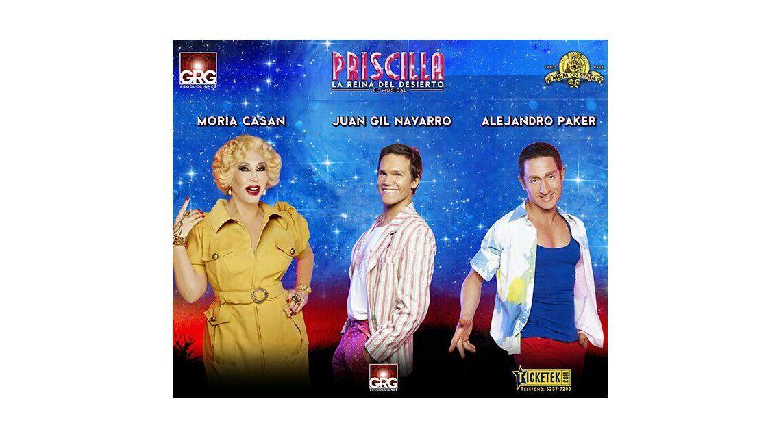 La nueva marquesina de Priscilla, con Moria Casán en el protagónico del musical