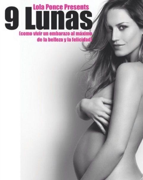 La producción de Lola Ponce a días de dar a luz