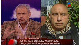 Mejora la salud de Santiago Bal: salió del coma farmacológico