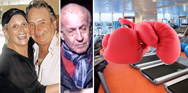 Con Santiago Bal grave, su hermano vs Carmen Barbieri; piñas y escándalo en un gimnasio